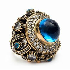 Ottoman Palace Turkish Artisan Ring