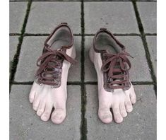The Fashion of the Most Hideous Shoes Ever Created... does anyone know where to buy a pair of these barefeet shoes? if so please leave a comment please to where to buy these, thank you