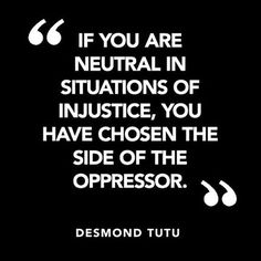 We cannot become so desensitized that we remain silent on issues that matter. We don't all have to do the same thing but we all must do something. #blacklivesmatter