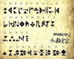 bayonetta demonic alphabet - Google Search