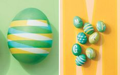 15 Creative Ways to Decorate Easter Eggs | Bored Panda - Stick New Piece of Tape Before Every New Layer Of Dye