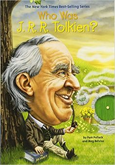 Best known for his epic Lord of the Rings trilogy and The Hobbit , J. Tolkien was born in British-occupied South Africa. His early life was full of action and adventure. Tolkien spent his childhoo Jrr Tolkien, Tolkien Books, Caricatures, British Countryside, Blockbuster Movies, High Fantasy, Middle Earth, Used Books, Lord Of The Rings