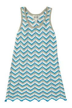 Flame Stitch Racerback Dress by Autumn Cashmere on @HauteLook