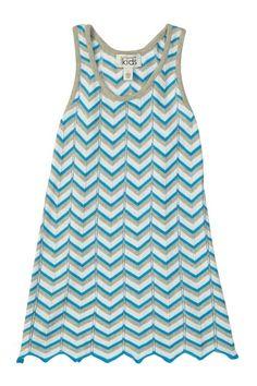 Chevron Toddler Dress.