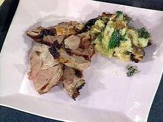 Rosemary and Garlic Roast Leg of Lamb recipe from Emeril Lagasse via Food Network