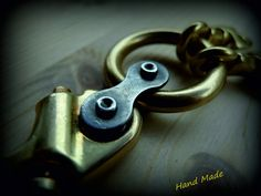 Brass Key Ring-3