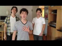 """AJR brothers mashing up """"Barbara Ann"""" (Beach Boys) and """"What Makes You Beautiful"""" (One Direction). It's actually really, really good."""