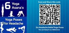 This is an android app, it helps to resolve our headache pain, six yoga poses very useful, good reference app and it is available on playstore for free https://play.google.com/store/apps/details?id=com.proven.headachereliefyogaposes