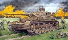 German Medium Tank: PzKpfw IV/F