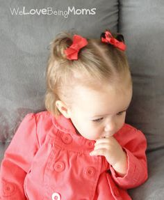 30 Hairstyles for Toddler Girls... I need this! Now if I can only get her to sit still ...