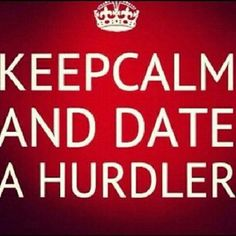 my boyfriend and i both hurdle :) Track Quotes, Hurdles, Track And Field, Keep Calm, Motivation, Excercise, Stretches, Random Stuff, Workouts