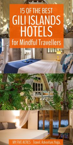 There are so many great places to stay on the Gili Islands. Start with our short list for the best Gili Islands hotels for any budget.