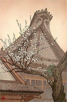 searching for spring all day, i never saw it, straw sandals treading everywhere among the clouds, along the bank. coming home, I laughed, catching the plum blossom's scent: spring at each branch tip, already perfect : sung dynasty nun
