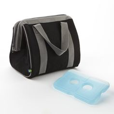 The Big Phil Insulated Lunch Bag with Ice Pack (Black)