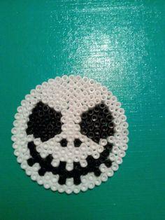 Jack Skellington perler beads