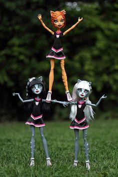 Monster High Toralei & Purrsephone & Meowlody