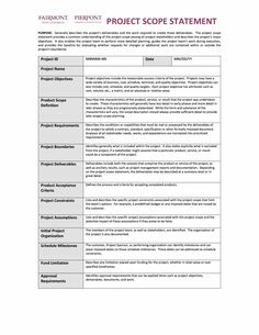 Printable blank bid proposal forms scope of work template status report template 28g 9001165 pronofoot35fo Choice Image