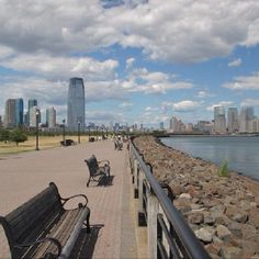 Liberty State Park is one of my favorite places in the world.  Though it has been bastardized a bit by commercialism it will forever be the calm in the chaotic storm that is Jersey City.  On many days this place gave me hope and kept me from losing it.  I HEART Liberty State Park in Jersey City, NJ forever and EVER!
