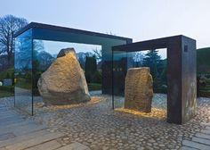 Covering of the Runic Stones in Jelling by NOBEL Arkitekter - Dezeen