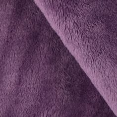 Minky Cuddle 3 Violet from @fabricdotcom  This extraordinary soft and cuddly fabric has a smooth minky surface, 3 mm pile, 380 grams and is perfect for apparel, blankets, baby accessories, throws, pillows and stuffed animals.