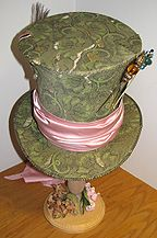 Articles on vintage headwear & costuming by Lynn McMasters, including how to make a fabric head form