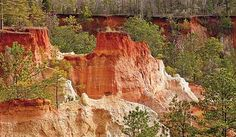 Providence Canyon near Atlanta (Paul Rezendes)