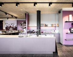 sky & sun café - Möbelbau Breitenthaler, Tischlerei Sun Cafe, Bathroom Lighting, Mirror, Furniture, Home Decor, Carpentry, Projects, Bathroom Light Fittings, Bathroom Vanity Lighting