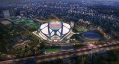 In mid-July, Japanese prime ministerShinzo Abe declaredthat ZHA's design for a New National stadium would notbe completed and that plans for...