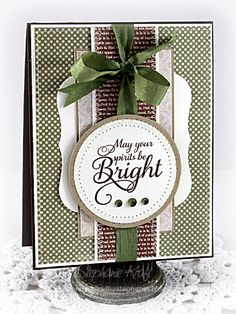 May Your Spirits Be Bright by booga3 - Cards and Paper Crafts at Splitcoaststampers