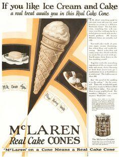 Ice Cream Cone - 1904 by Ernest Hamwi
