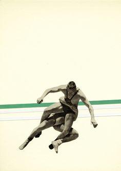 Poster | THE WRESTLER von Cassia Beck