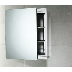 Gedy Stainless Steel Cabinet with Sliding Mirror Door Ko07-13 by Gedy. $331.00. Part of the Gedy Kora collection.. Luxury medicine cabinet, made in high quality stainless steel and mirror.. Made in and imported from Italy by Gedy. Medicine Cabinet coated in chrome. Complete your luxury personal bathroom with this high-quality medicine cabinet from Gedy. This modern & contemporary, high quality medicine cabinet is made in and imported from Italy with stainless steel and mirr...