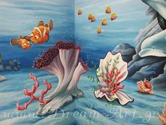 Κοράλλια, ζωγραφική