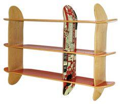 skate estantería storage diseño design librería library miraquechulo