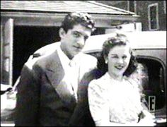Dean and his first wife Betty