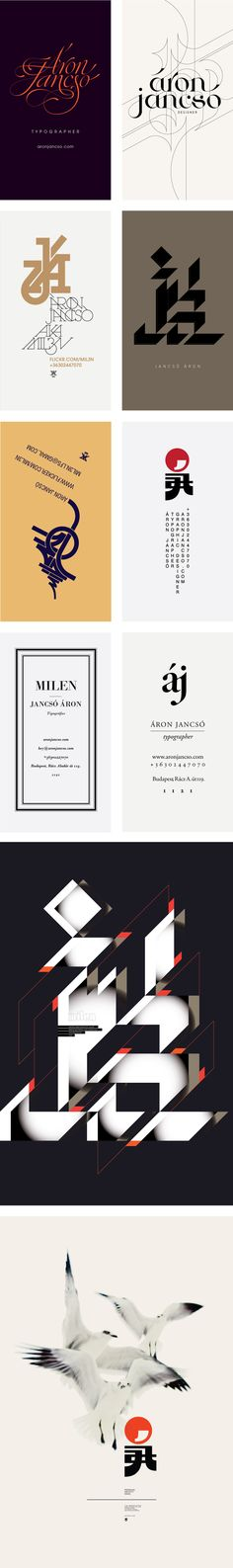 Posters designed byÁron Jancsó. LOVE #1,2 and 8 :-) absolutely gorgeous!!