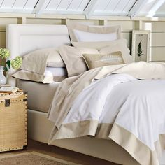 Hampton Bed & Headboard | Williams-Sonoma