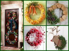 (166) Diy Christmas Wreaths - 50 Creative Ideas! - YouTube