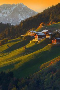 wanderlusteurope:  Sunrise over the Dolomites