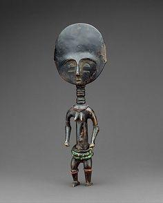GHANA | Fertility Figure: Female (Akua Ba), 19th–20th century. The Metropolitan…