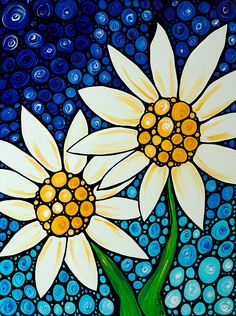 Image result for daisy abstract