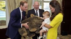 Little Prince George, the 18-month-old son of Prince William and Kate Middleton, Duchess of Cambridge, got the most booty — over 800 gifts, more than 600 just during his tour of Australia with his parents .