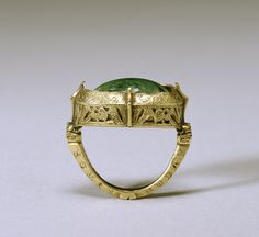 - Bishop's Ring - these rings had to be large as bishops normally wore them over gloves on the third finger of the right hand