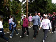 Maria Arcega-Dunn participates in Making Strides.