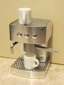 Doll House Miniatures   Playscale(1:6) Espresso maker   ELF Miniatures