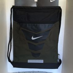 sports shoes cdb23 99616 GIFT IDEA FOR GRADSNike Vapor Gym Sack. Nike Vapor Gymsack Cargo  Khaki Black Metallic Silver. FYI...Picture may slightly different from the  actual product ...