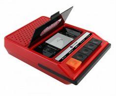 Retro Tape Player iPhone Speaker