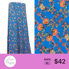 LuLaRoe Maxi skirts