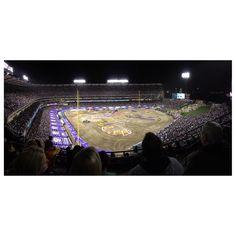 Monster Jam 2015 @ Angels Stadium, Anaheim, CA Monster Truck Jam, Places Ive Been, Places To Go, Angel Stadium, Angels, Angel, Angelfish