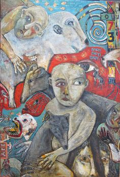 American Primitive Gallery Terry Turrell - this leads to American Primitive Gallery and many very interesting artists Art And Illustration, Pop Art, Figurative Kunst, Art Through The Ages, Art Brut, Naive Art, Outsider Art, Painting Inspiration, Portraits